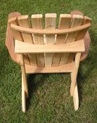 Click to enlarge image Back view - Standard Adirondack Chair -