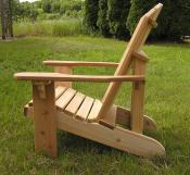 Click to enlarge image Side view - Standard Adirondack Chair -