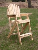 Click to enlarge image Standard Folding Tall Chair - Folding Tall Chair -