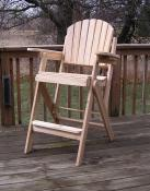 Click to enlarge image It`s also available in a Big Boy version. - Folding Tall Chair -