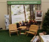 Click to enlarge image Camp Chairs and Fancy Side Table - Minnesota State Fair 2013 -