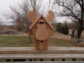 Click to enlarge image Moose - Birdhouses with charisma - Moose and Bear