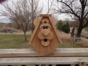 Click to enlarge image Bear - Birdhouses with charisma - Moose and Bear
