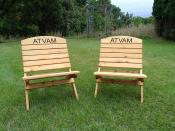 Click to enlarge image Personalized: $25 per board - Camp Chair/Sports Chair -