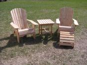 Click to enlarge image  - Folding Adirondack Chair -