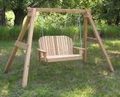 Porch Swing with A-Frame