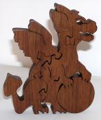 Click to enlarge image Baby Dragon, walnut, $15 - Dragons -  Slim, Baby, Fleet, TDC, Hilarion