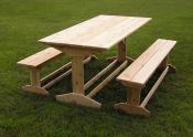 Trestle Picnic Table Benches