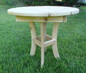 Click to enlarge image Elegant Round End Table - Round End Table -