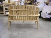 Click to enlarge image Back view - Garden Love Seat -